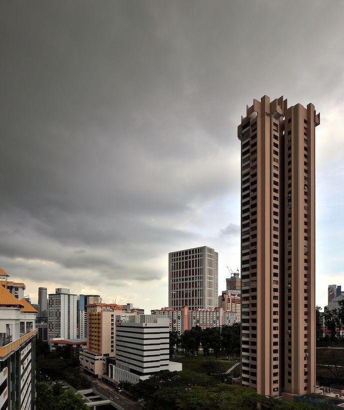 EDGEPROP SINGAPORE - 由ZACD领导的财团开发的Landmark项目(是Landmark Tower的重新开发,如图)是因阻断措施而延迟推出的项目之一(图片来源:Samuel Isaac Chua/Edgeprop Singapore)