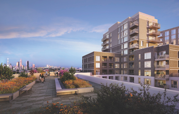 Berkeley Homes' Oval Village is a regeneration scheme on a 2-ha site located at the former Gasworks next to the Oval cricket ground (Photo: Berkeley Homes)