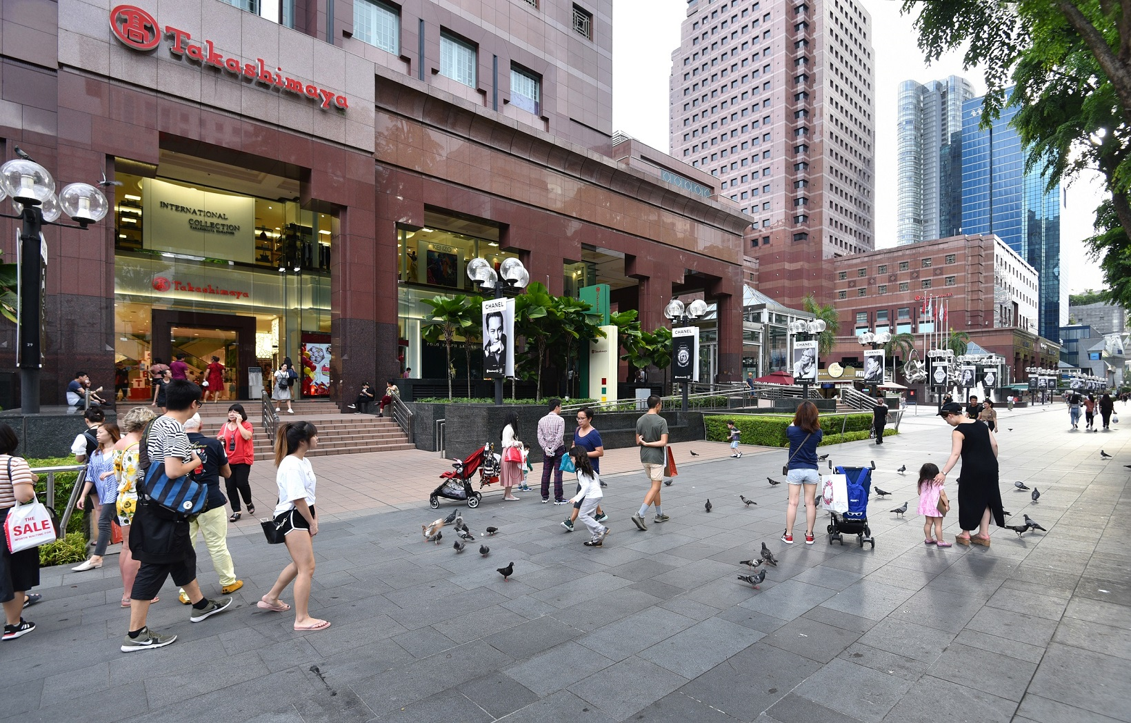 THE LUMOS - The makeover of Orchard Road into a lifestyle destination was introduced in January this year