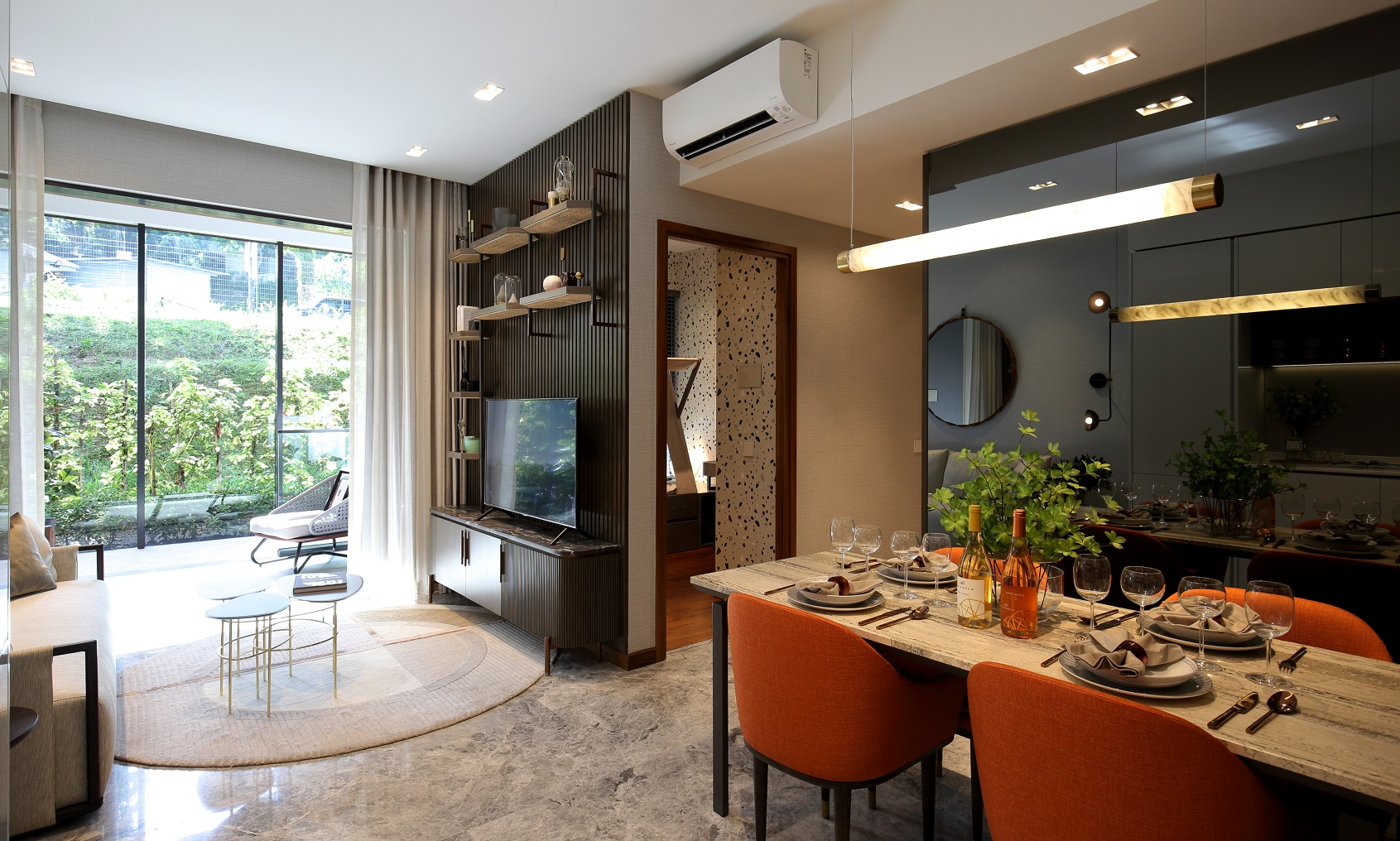 FOURTH AVENUE RESIDENCES - Show unit of a two-bedroom suite - EDGEPROP SINGAPORE