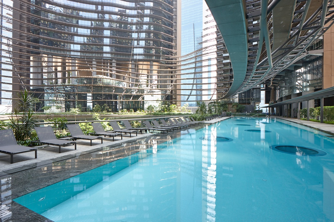 A plethora of water theme areas for activities and exercise, or simply to relax (Photo: M+S) - EDGEPROP SINGAPORE