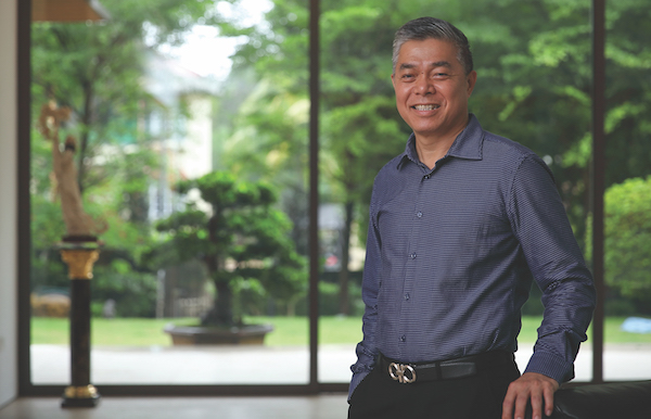 Ng: Given the location of the site, I felt that I had to build something that's out of the box (Photo: Samuel Isaac Chua/EdgeProp Singapore)