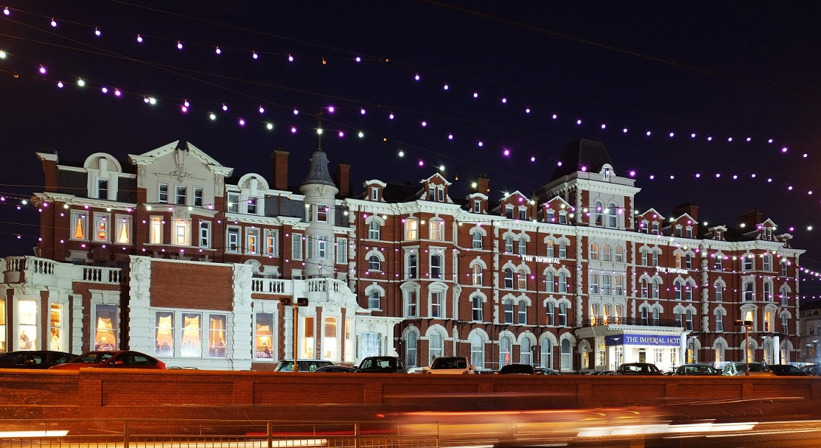 The 180-room Imperial hotel in Blackpool, Fragrance Group's maiden purchase of a hotel in the UK (Photo: Fragrance Group)