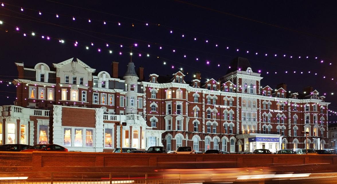 位于布莱克浦的帝国酒店拥有180间客房,是飞龙集团首次在英国购买的酒店(图片:飞龙集团)