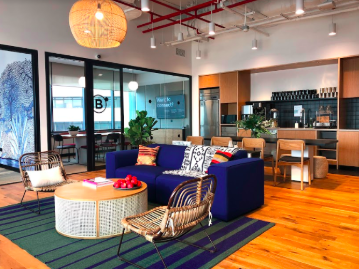 The new WeWork 9 Battery Road was officially launched on Oct 10 (Photo: WeWork)