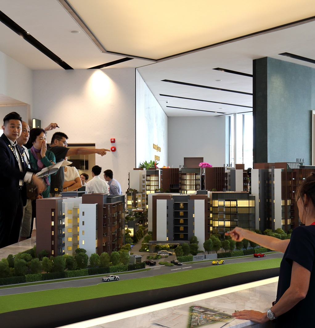 FOURTH AVENUE RESIDENCES - The crowd at the preview of Fourth Avenue Residences  - EDGEPROP SINGAPORE