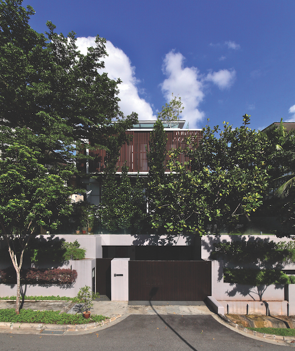 The detached house on Harlyn Road at Dunearn Estate in prime District 11 (Photo: Samuel Isaac Chua/EdgeProp Singapore)
