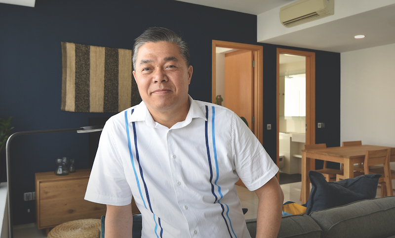Ng: I always thought a co-living or serviced-apartment type concept will work for Lumiere (Credit: Albert Chua/EdgeProp Singapore) - EDGEPROP SINGAPORE