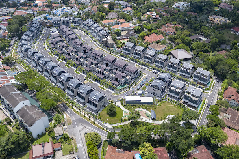 GCB - Aerial view of Victoria Park Villas, - EDGEPROP SINGAPORE