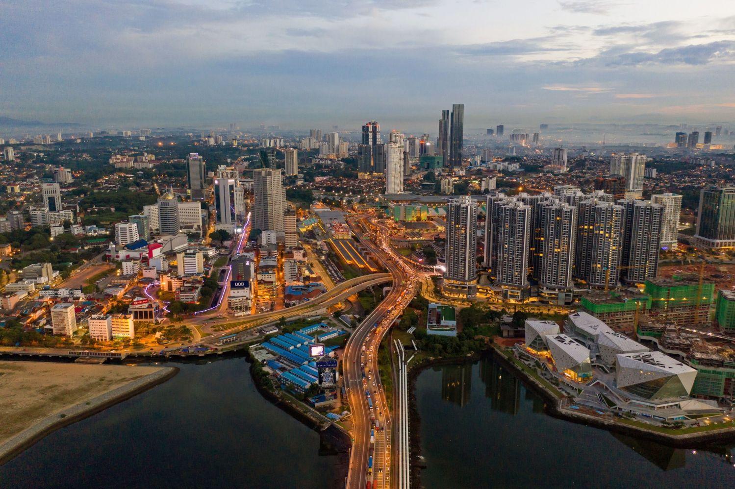 Johor-Bahru-skyline - EDGEPROP SINGAPORE