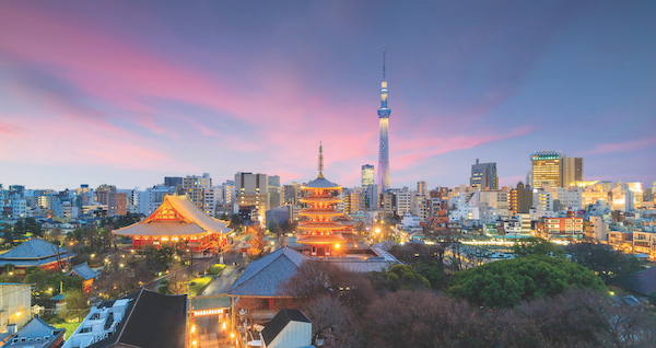 The group started investing in Japan three years ago, and intends to accumulate up to 300-400 serviced apartments and rental apartments (Photo: Shutterstock)
