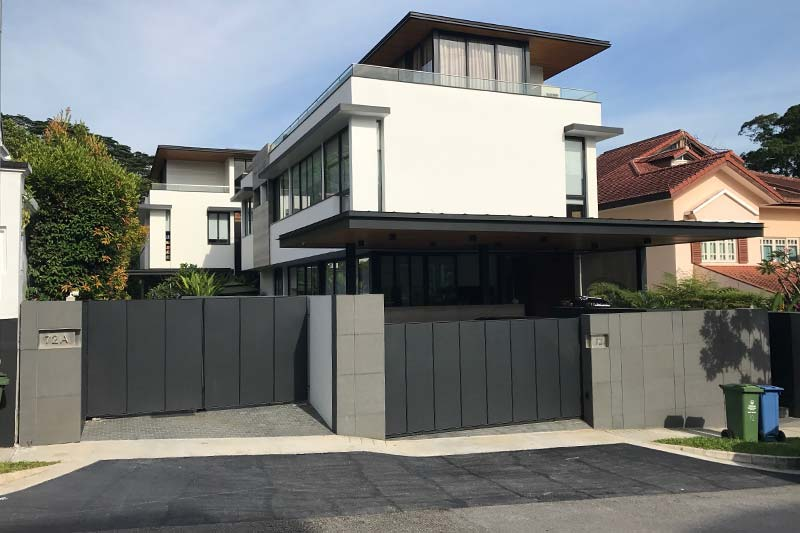 Yip's former home at Greenleaf View was torn down by the group to be redeveloped into a new bungalow for sale (Photo: Jean Yip Group)