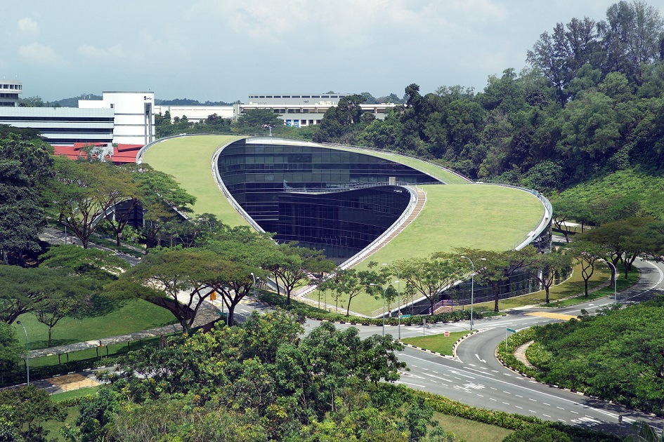 Singaporean architect Timothy Seow of CPG Consultants designed the NTU School of Art, Design & Media (Photo: CPG Corp)