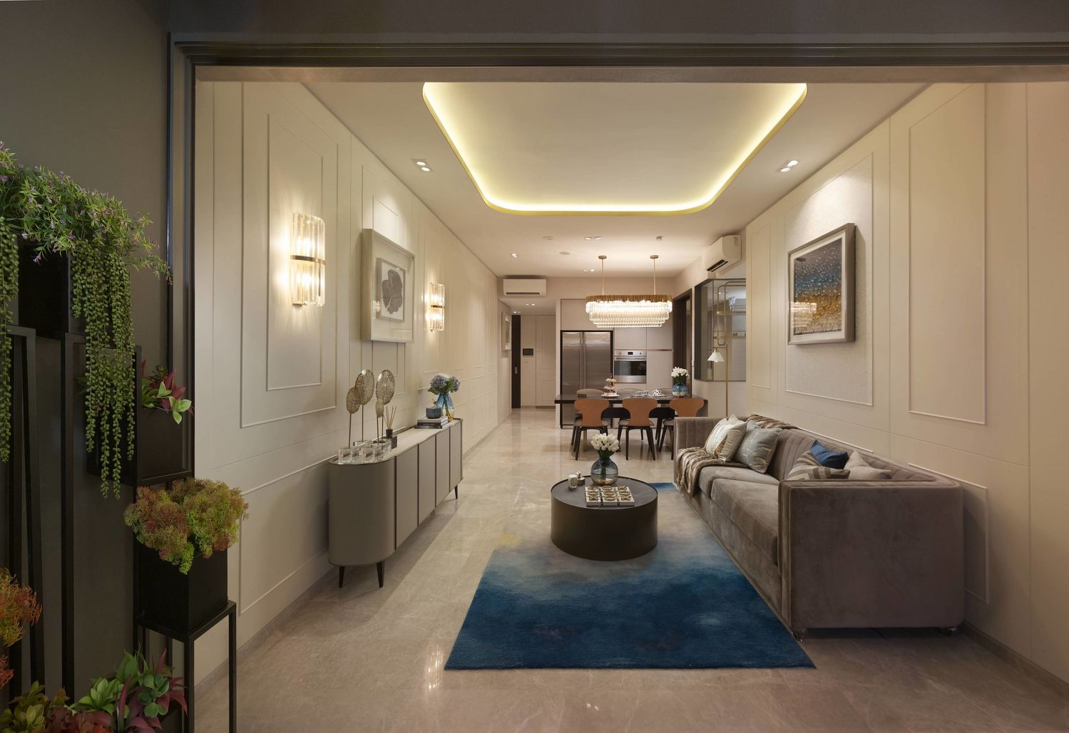 EDGEPROP SINGAPORE - One of the showflats at Qingjian Realty's JadeScape sales gallery, which will be open for viewing from Friday (Photo: Qingjian Realty)