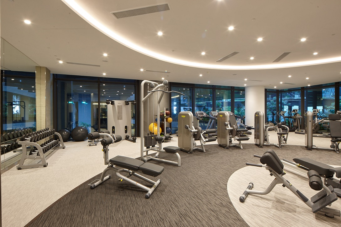 The 200 sqm fully equipped gymnasium (Photo: M+S) - EDGEPROP SINGAPORE