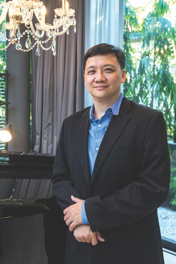 Jason Poh (pictured) and his brother Melvin Poh co-founded Central Group of Companies as a niche property developer in 2014 (Photo: Albert Chua/EdgeProp Singapore) - EDGEPROP SINGAPORE