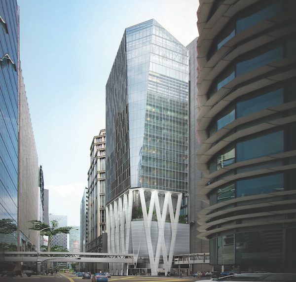 The new 19-storey Afro-Asia i-Mark is expected to be completed by 2Q2020 (Credit: Robinson Development)