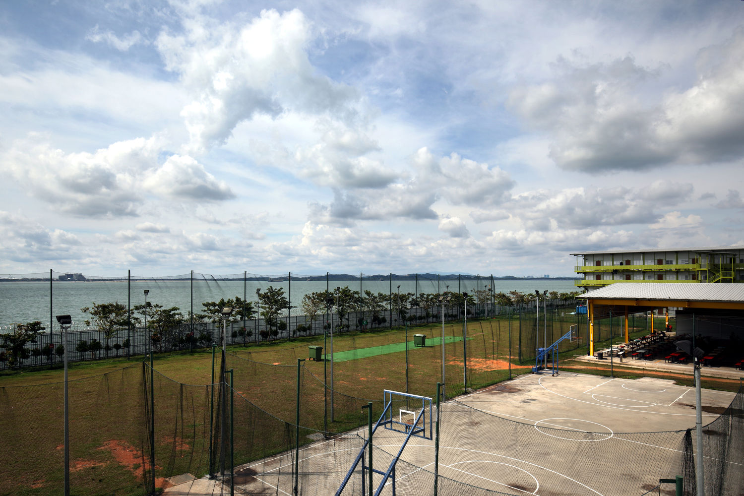 Tuas View has minimarts, dedicated cooking areas, central laundry and recreational facilities such as outdoor games courts and a gym - EDGEPROP SINGAPORE