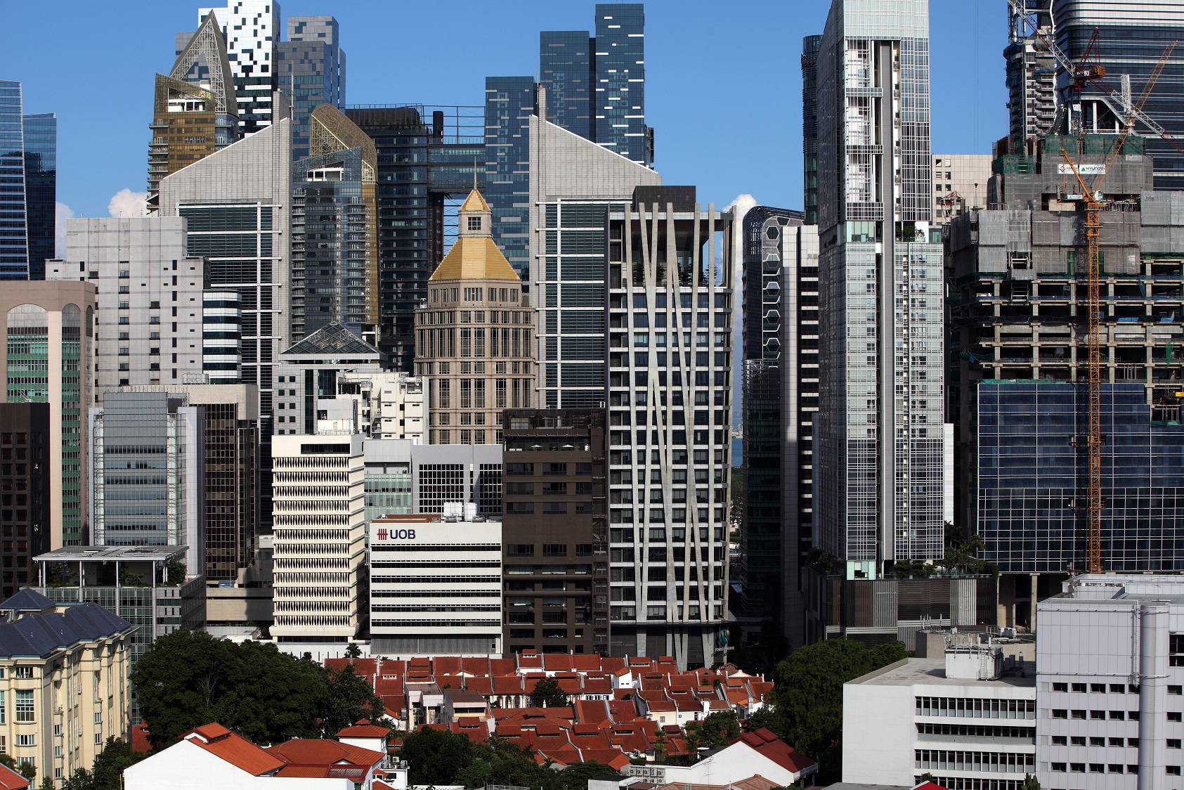 Cushman & Wakefield says landlords have already enjoyed the upside of the office rental cycle and most have reported positive rental reversion over the last two years (Photo: Samuel Isaac Chua/EdgeProp Singapore)