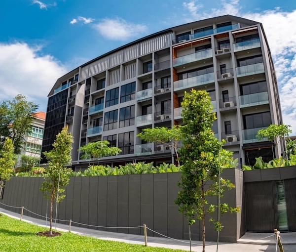 The 26-unit The Enclave at Holland is 40% sold to date (Photo: Jean Yip Group)