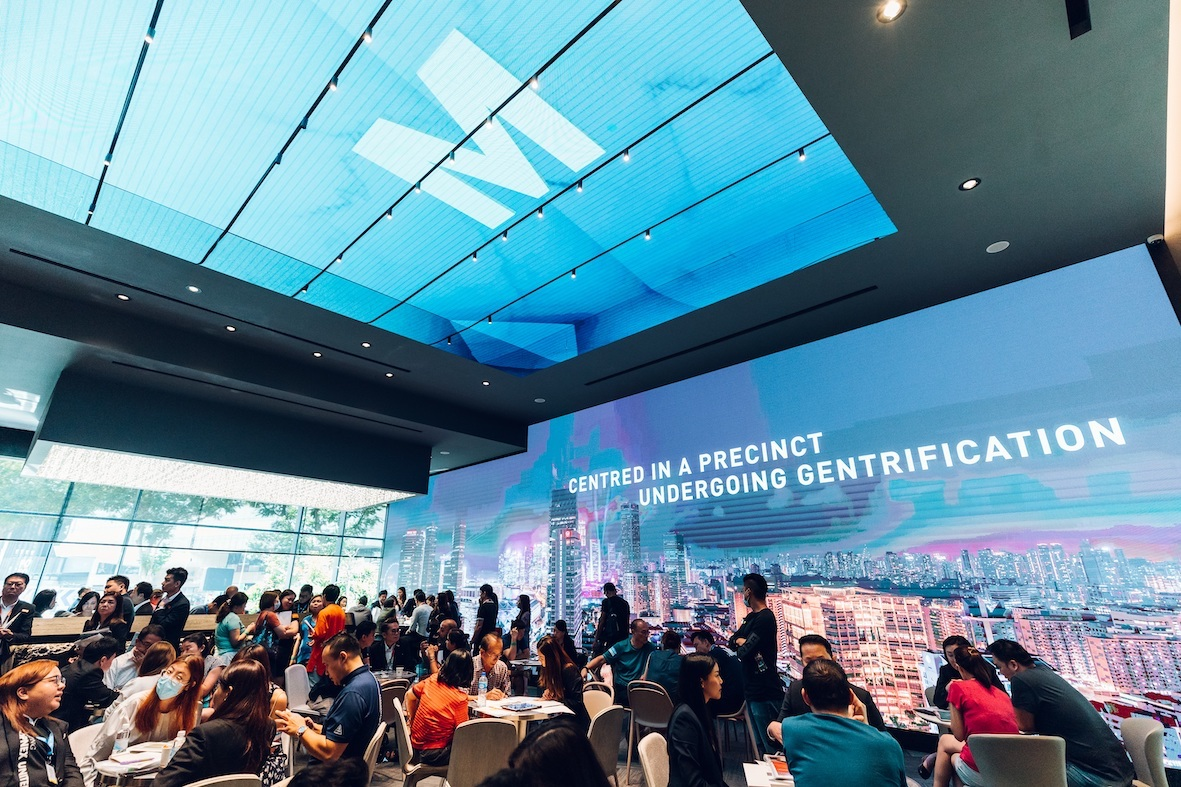 The M, which previewed last weekend, drew a crowd of more than 2,000 (Photo: Wing Tai Asia)