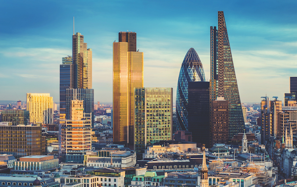 London's financial services sector has been struggling for some time and the business services sector has almost certainly been hit by the global trade slowdow (Photo: Shutterstock)