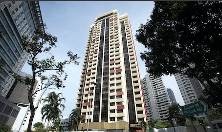 Richmond Park on Bideford Road, located adjacent to Paragon in Cairnhill was one of three condominiums that were top-of-mind among foreign buyers 25 years ago (Photo: Samuel Isaac Chua/EdgeProp Singapore)