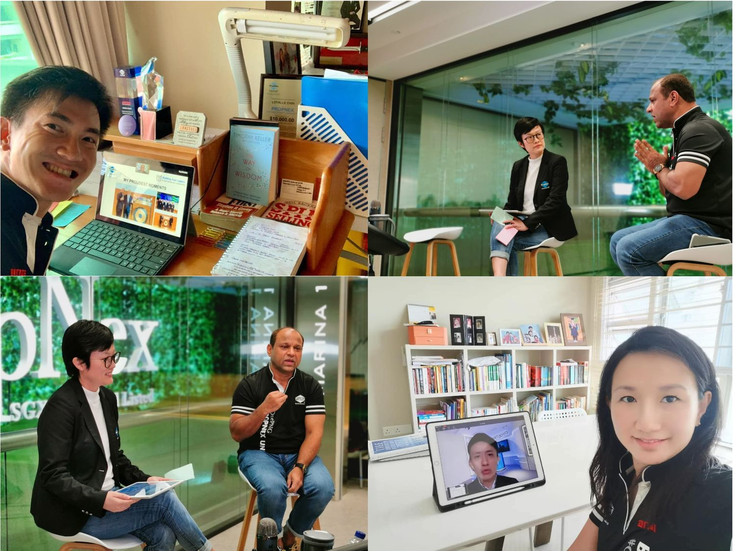 PropNex agents attending virtual training and webinars - EDGEPROP Singapore - EDGEPROP SINGAPORE