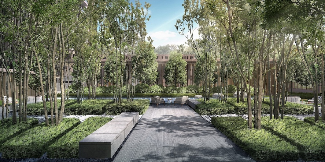 A redevelopment of the former Pacific Mansion, The Avenir sits on a freehold site of 129,648 sq ft (Photo: Hong Leong Holdings)