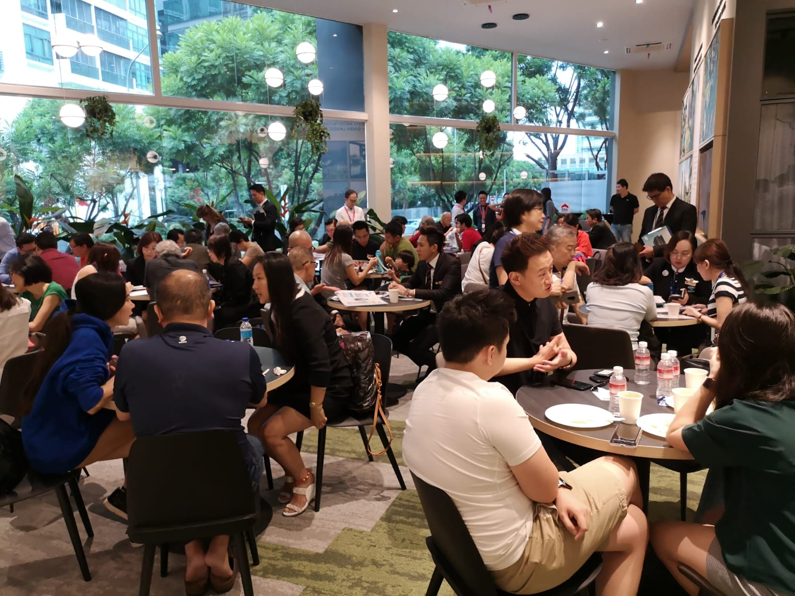Crowd at Fyve Derbyshire at launch weekend in January 2019 (Photo: Roxy-Pacific Holdings) - EDGEPROP SINGAPORE