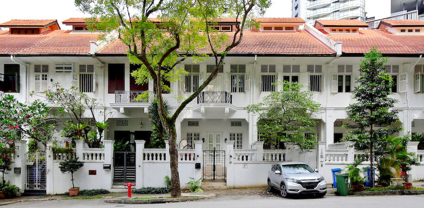 Conservation terraced houses at Cairnhill Road - EDGEPROP SINGAPORE