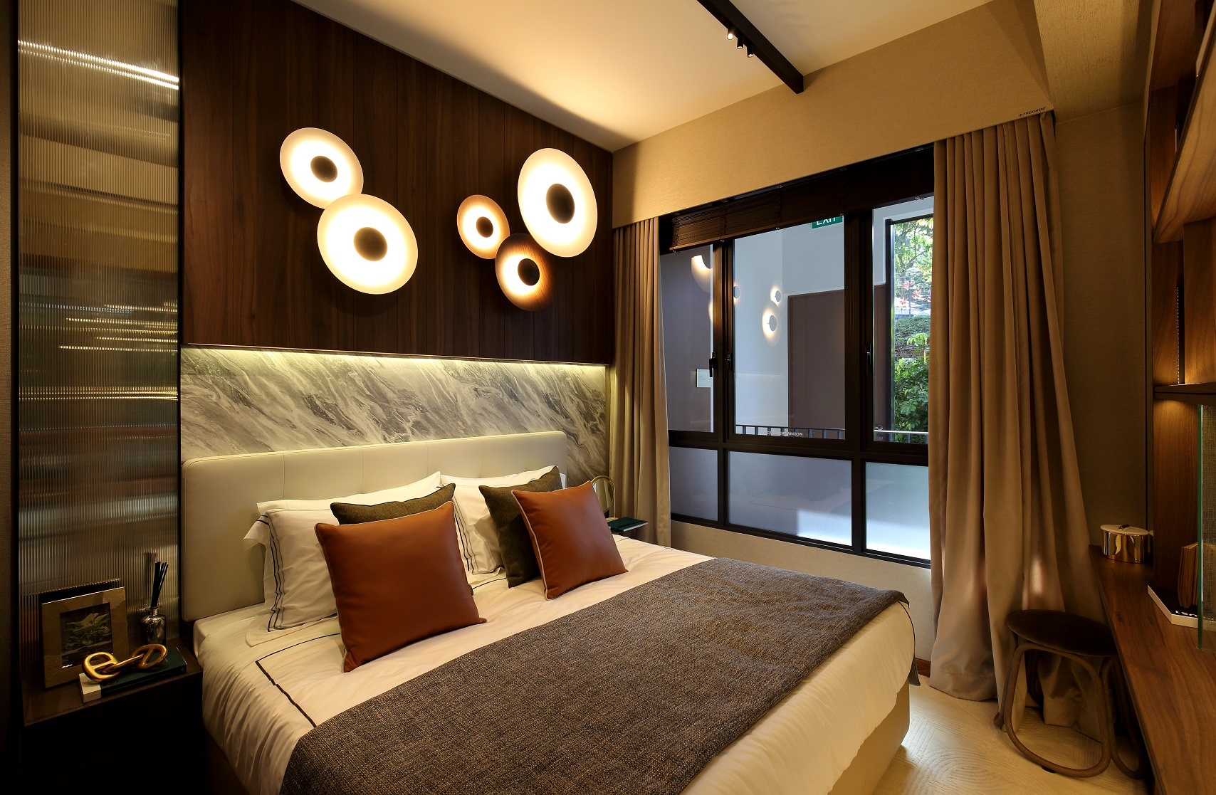 FOURTH AVENUE RESIDENCES - Master bedroom of one-bedder - EDGEPROP SINGAPORE
