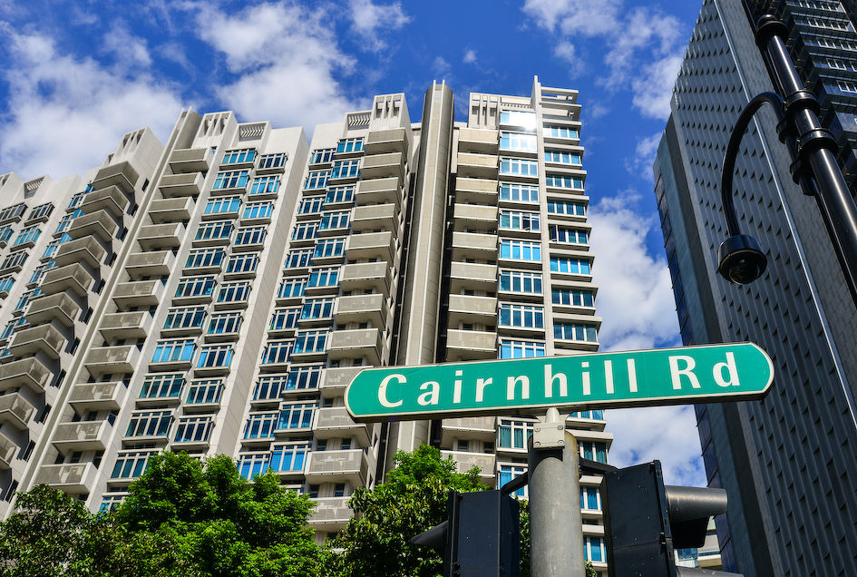 The Cairnhill enclave is bounded by Scotts Road, Newton Road and Orchard Road (Photo: Shutterstock)