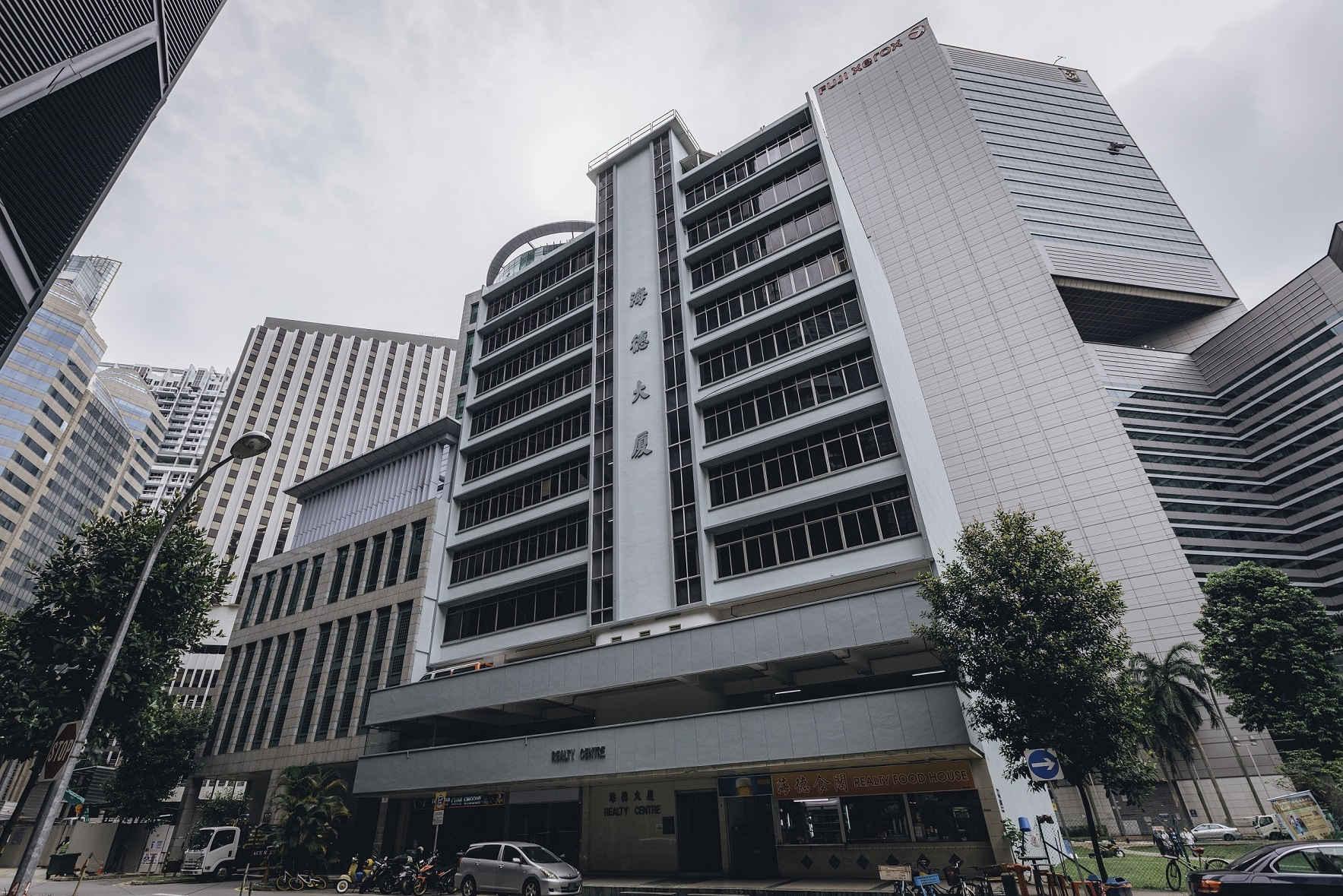GLS BERNAM STREET - The GLS site on Bernam Street is located next to Realty Centre which was sold en bloc for $148 million in April this year (Photo: Cushman & Wakefield) - EDGEPROP SINGAPORE