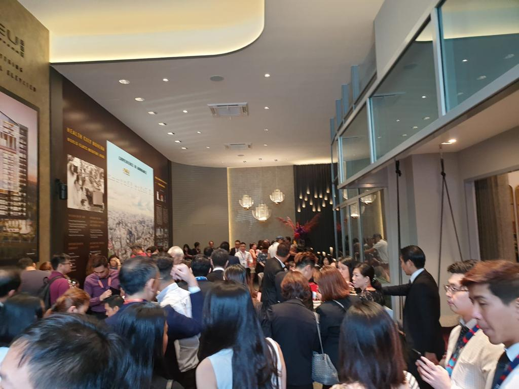 NEU AT NOVENA - The crowd on the first day of launch (Photo: Roxy-Pacific Holdings)