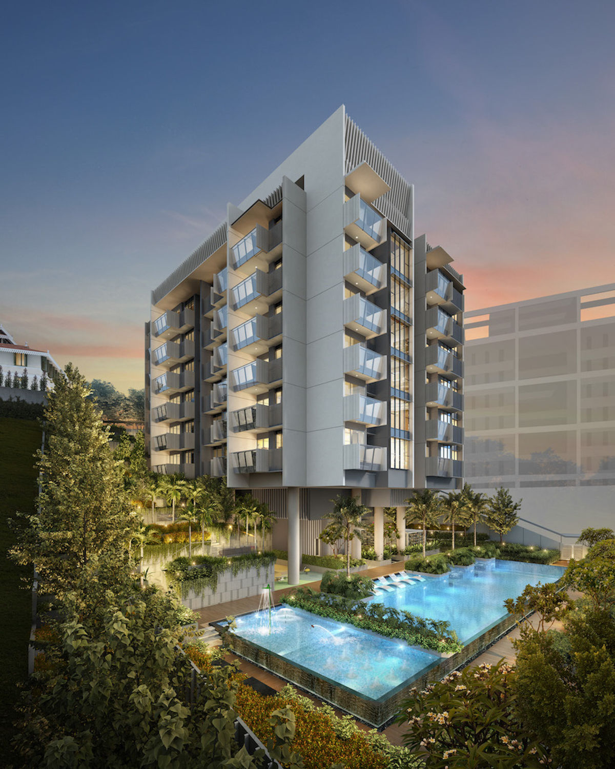 HAUS-ON-HANDY-Side-facade-with-pool - EDGEPROP SINGAPORE