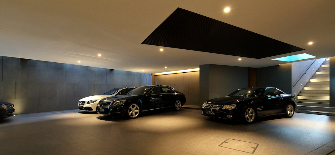 GCB GALLOP PARK - The basement carpark has the capacity for parking eight cars