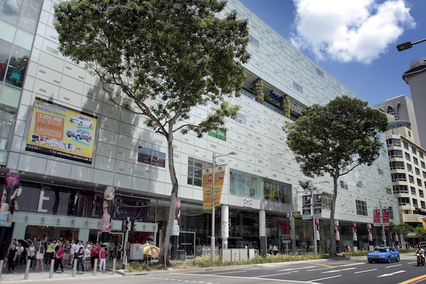 The 313@Somerset mall on Orchard Road was sold to Lendlease Global Commercial Reit for $1.003 billion and is the biggest asset in the initial portfolio (Photo: Samuel Isaac Chua/EdgeProp Singapore)