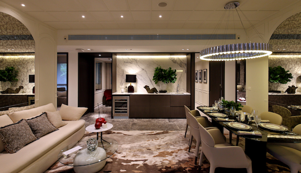 The four-bedroom show unit at The Peak Collection, which spans the 37th to 56th floors of the two high-rise towers in Avenue South Residence (Photo: Samuel Isaac Chua/EdgeProp Singapore) - EDGEPROP SINGAPORE