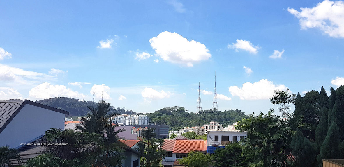 View of Bukit Timah Hill and Nature Reserve - EDGEPROP SINGAPORE