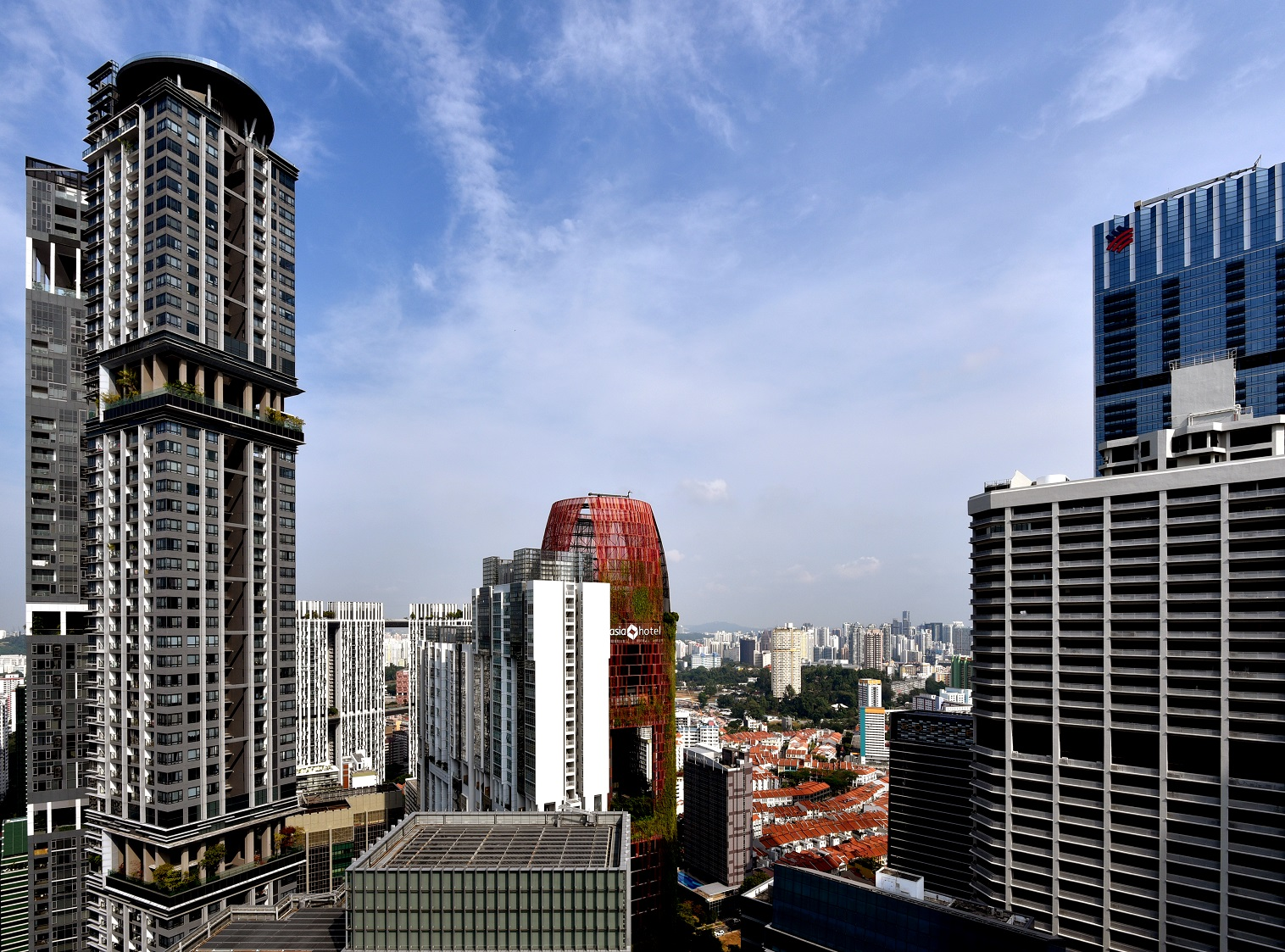 GLS BERNAM STREET - Nearby 99-year leasehold private residential properties in the Tanjong Pagar area that could have been used as references by bidders include Skysuites @ Anson and Altez (pictured on the left) [Photo: Samuel Isaac Chua/EdgeProp Singapore] - EDGEPROP SINGAPORE