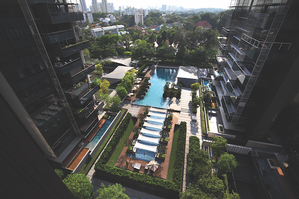 The latest transaction at Leedon Residence was for a 2,131 sq ft, three-bedroom unit that fetched $4.88 million ($2,290 psf) [Photo: Samuel Isaac Chua/EdgeProp Singapore] - EDGEPROP SINGAPORE