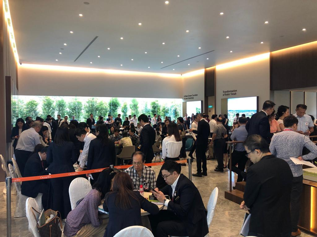 Crowd on first day of launch at Royalgreen (Photo: Allgreen Properties)  - EDGEPROP SINGAPORE