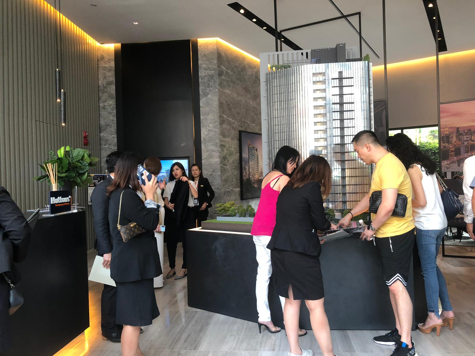 On the first weekend of launch, 14 of 20 units released at The Iveria were taken up (Picture: Macly Group)
