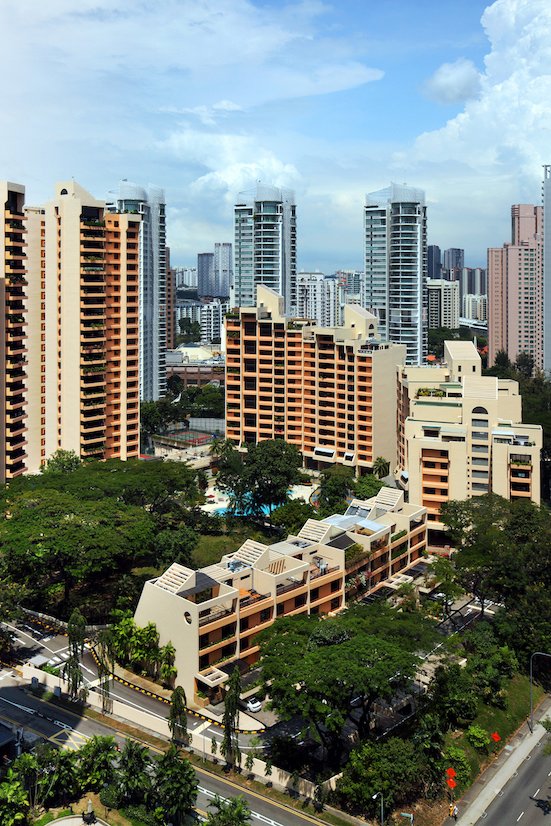 Yong An Park - A 3,229 sq ft, four-bedroom unit on the 14th floor of one of the blocks changed hands for $6.08 million ($1,883 psf) in July 2019 (Photo: Samuel Isaac Chua/EdgeProp Singapore)
