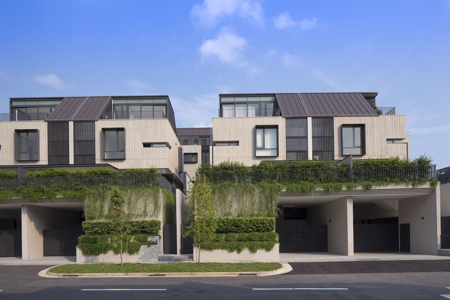 Semi-detached houses make up 106 of the 109 houses at Victoria Park Villas - EDGEPROP SINGAPORE
