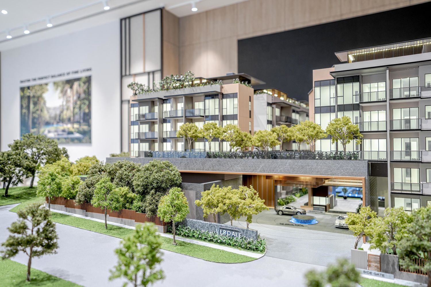 The architectural model of Verdale - EDGEPROP SINGAPORE