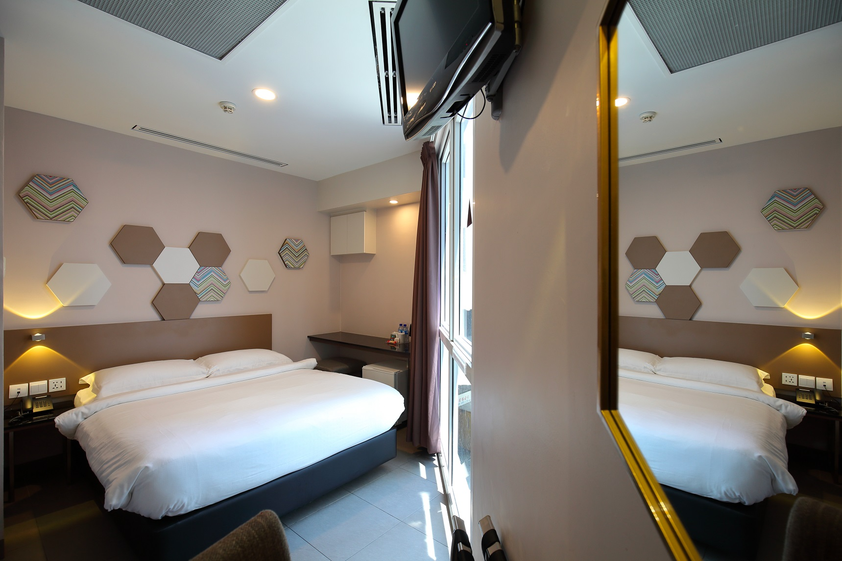 One of the refurbished rooms at the 74-unit ibis budget Imperial located on Penhas Road (Photo: Samuel Isaac Chua/EdgeProp Singapore) - EDGEPROP SINGAPORE