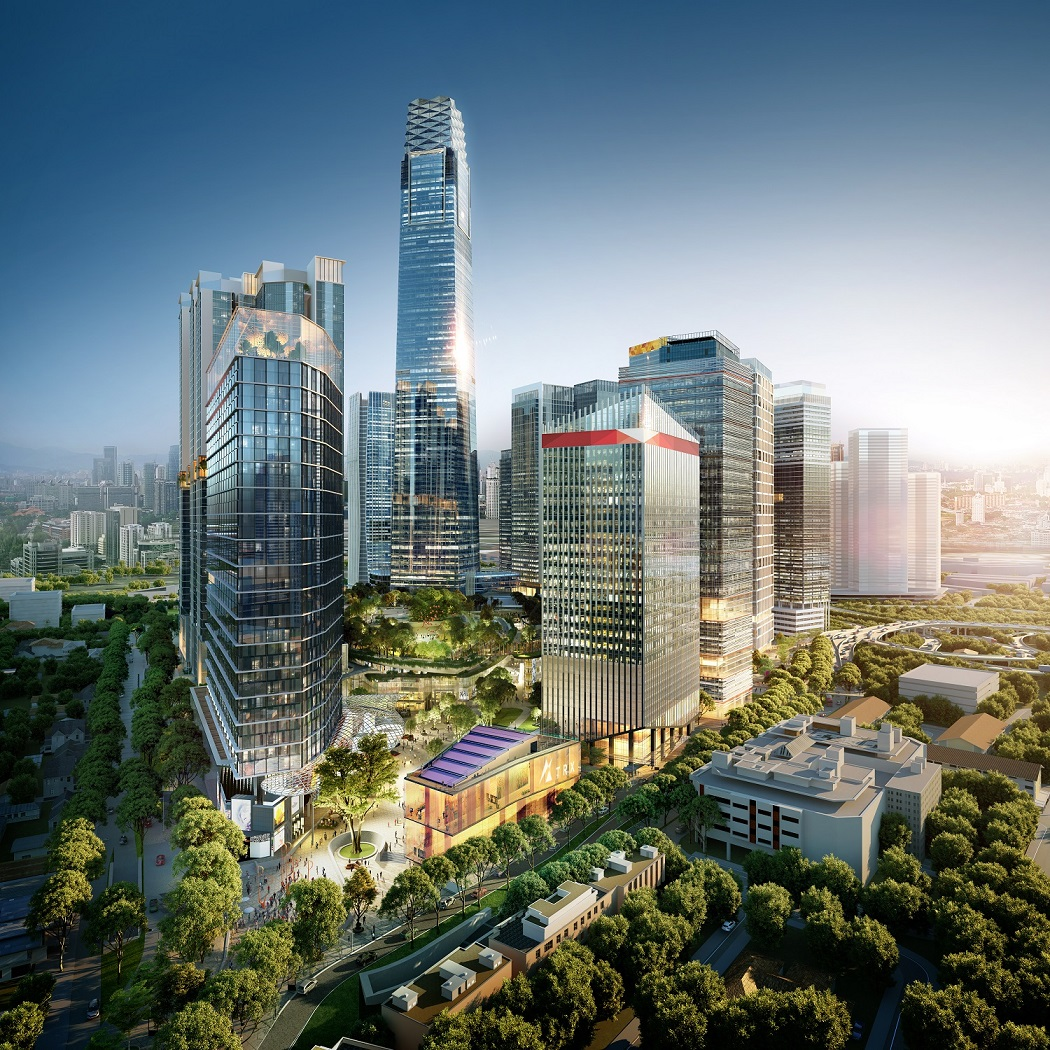Artist's impression of The Exchange TRX in Kuala Lumpur, which will feature a luxury hotel, offices, six residential towers and a large-scale shopping mall with over 2 million sq ft of gross floor area, about 500 retail outlets and a 4.2ha rooftop park (Photo: Lendlease)