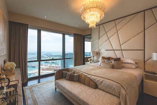 View from the master bedroom of the final penthouse offered for sale (Photo: Albert Chua/EdgeProp Singapore) - EDGEPROP SINGAPORE